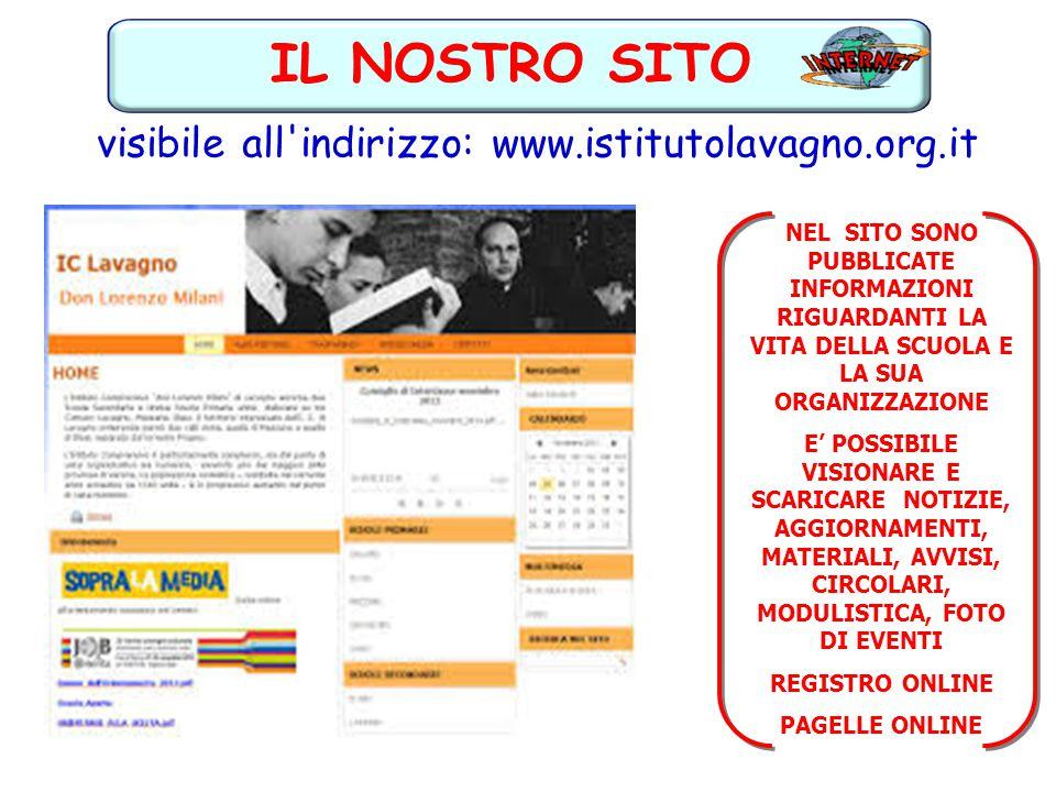 visibile all indirizzo: www.istitutolavagno.org.it