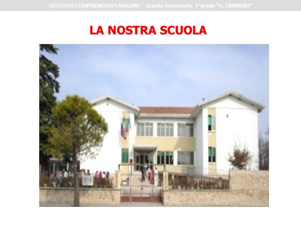 ISTITUTO COMPRENSIVO LAVAGNO - Scuola Secondaria I°grado G. ZAMBONI