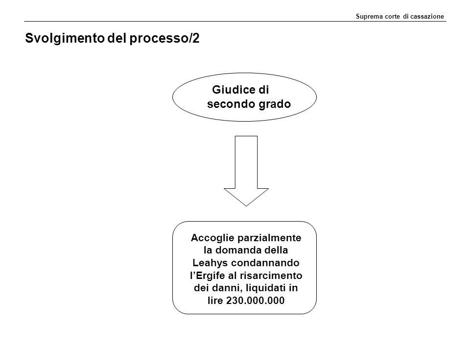 Svolgimento del processo/2