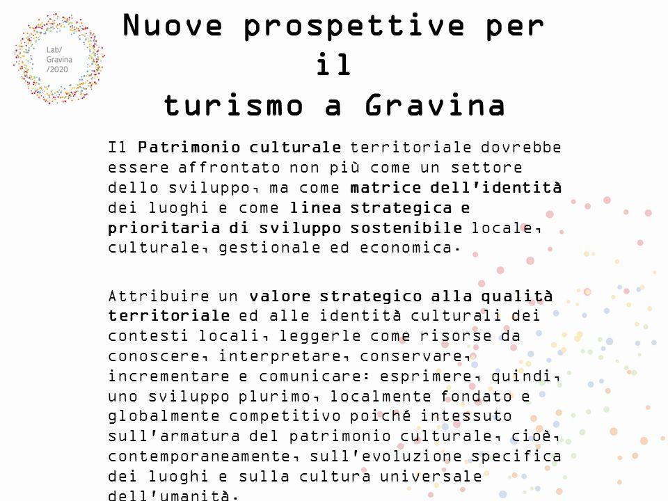 Nuove prospettive per il turismo a Gravina