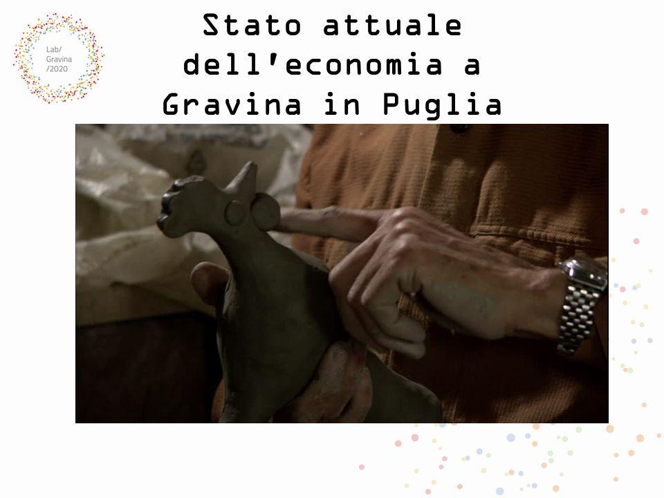 Stato attuale dell economia a Gravina in Puglia