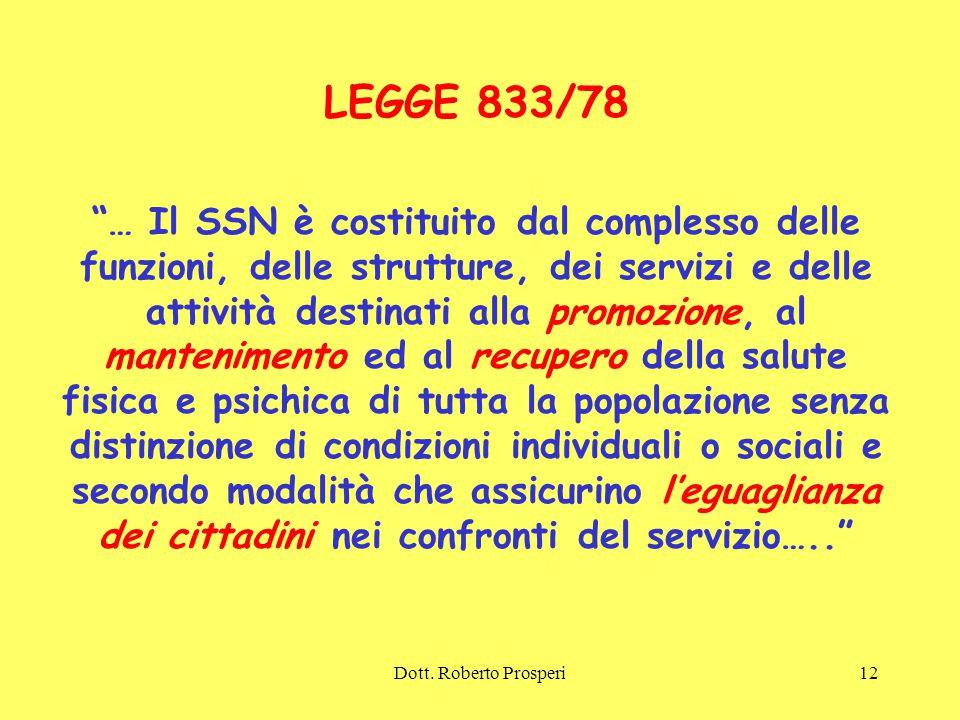LEGGE 833/78