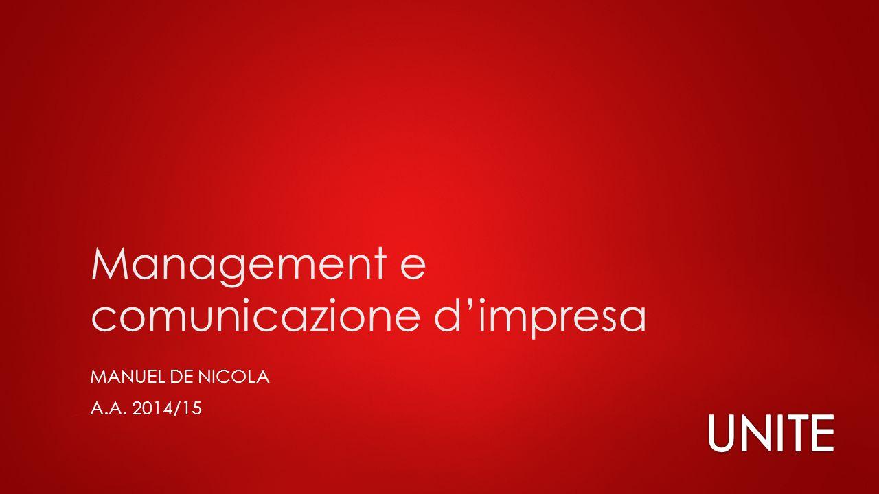 Management e comunicazione d'impresa