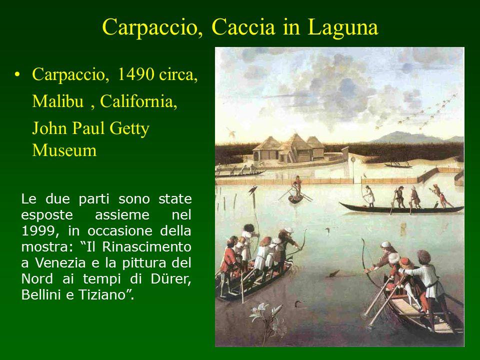 Carpaccio, Caccia in Laguna