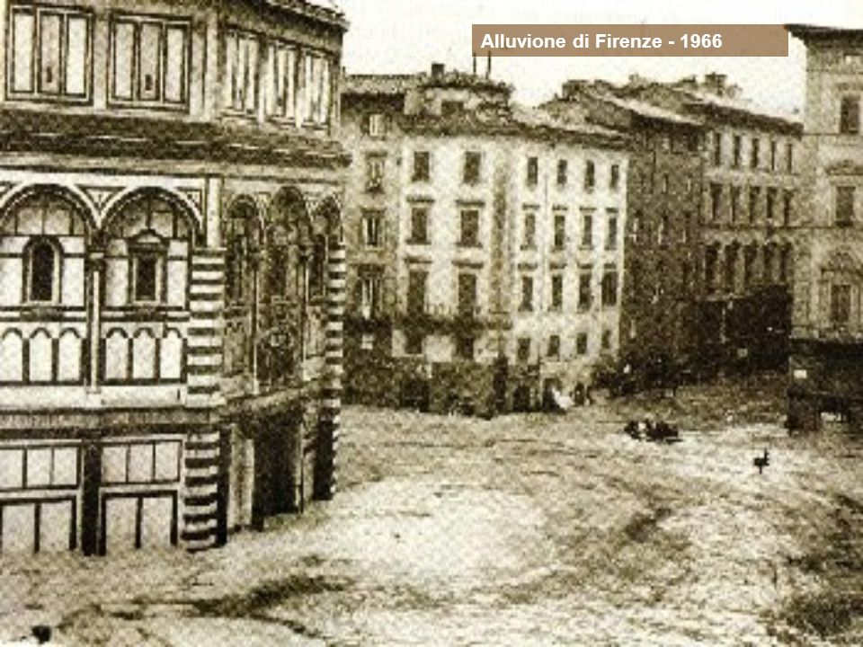 Alluvione di Firenze - 1966