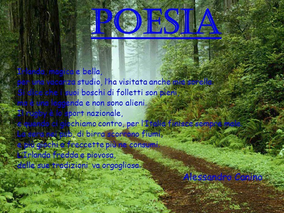 POESIA Alessandro Canino Irlanda, magica e bella,