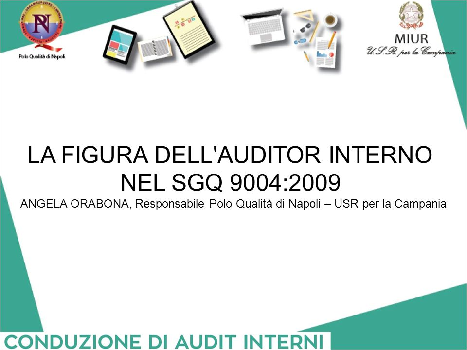 LA FIGURA DELL AUDITOR INTERNO