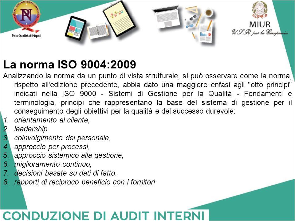 La norma ISO 9004:2009