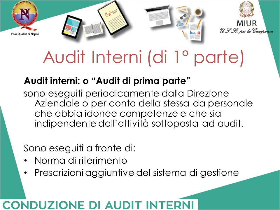 Audit Interni (di 1° parte)