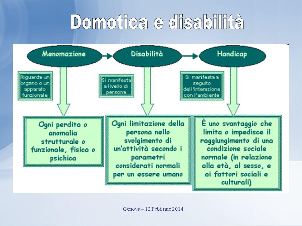 Domotica e disabilità Genova – 12 Febbraio 2014
