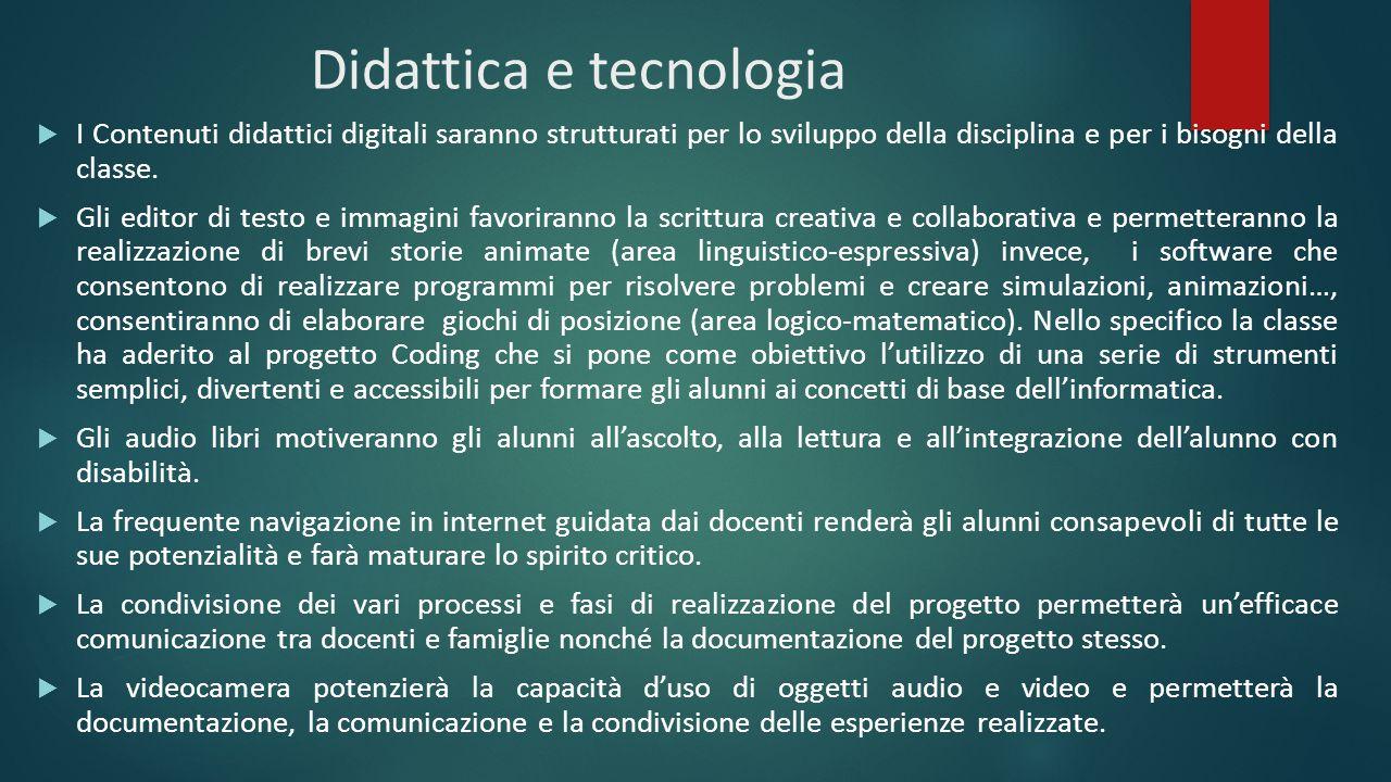 Didattica e tecnologia