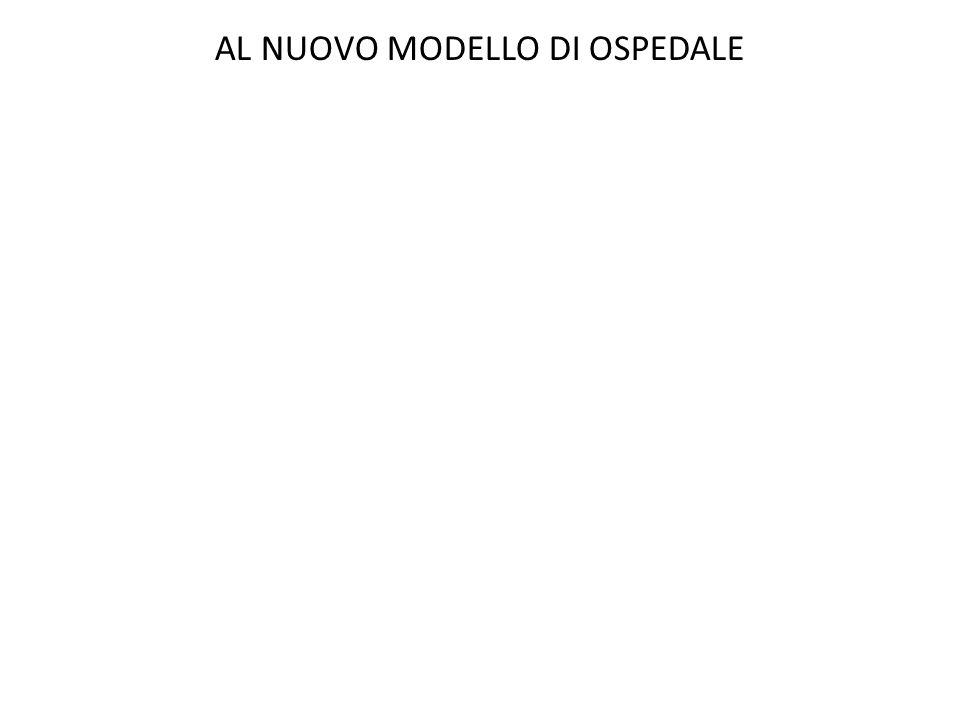 AL NUOVO MODELLO DI OSPEDALE