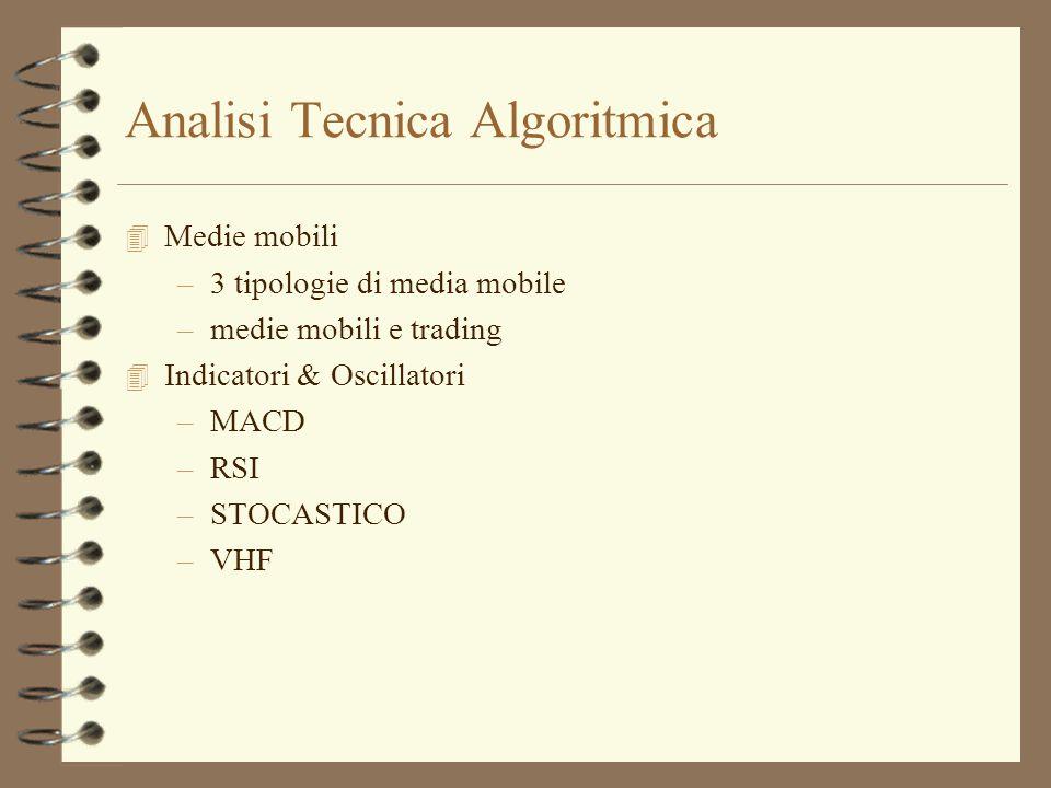 Analisi Tecnica Algoritmica