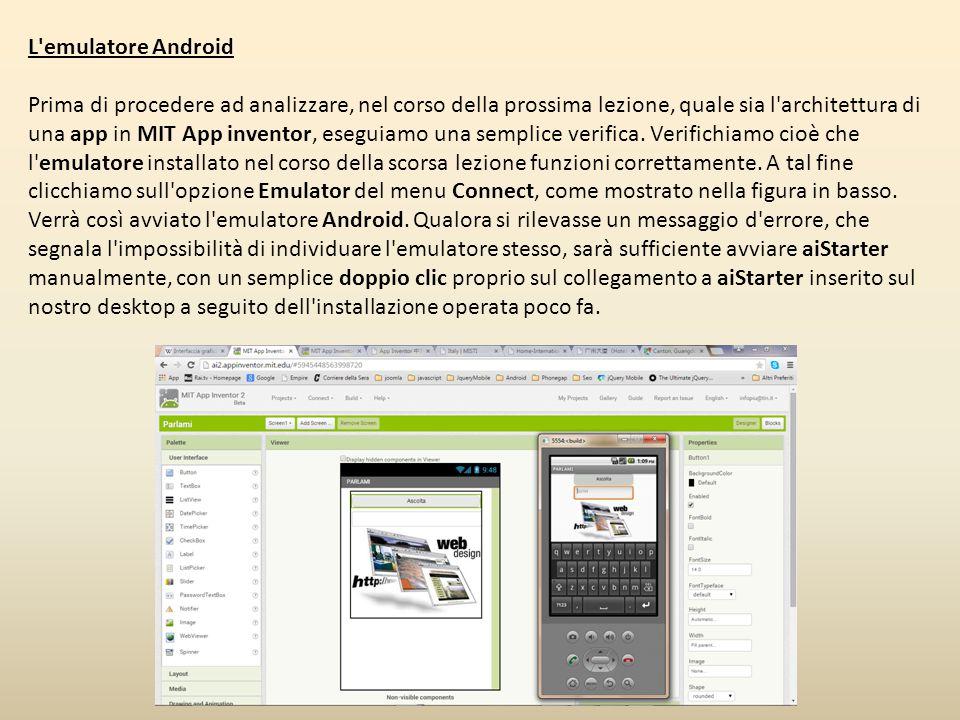 L emulatore Android