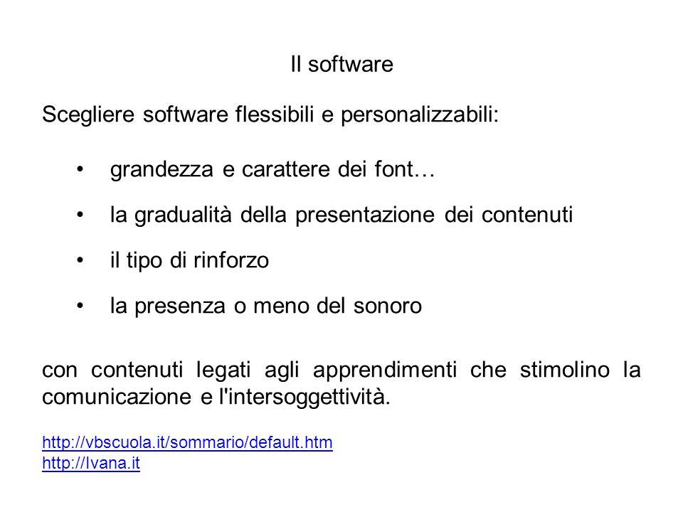 Scegliere software flessibili e personalizzabili: