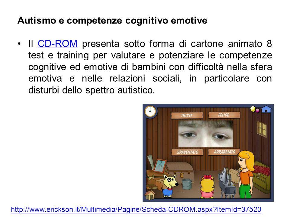 Autismo e competenze cognitivo emotive