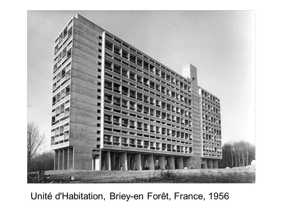 Unité d Habitation, Briey-en Forêt, France, 1956