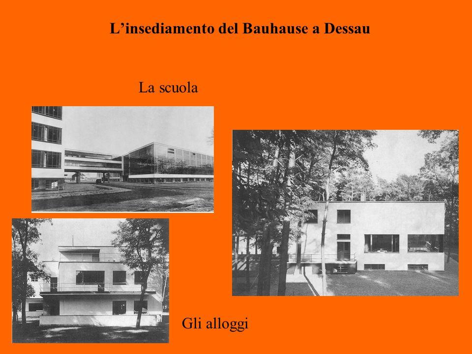 L'insediamento del Bauhause a Dessau