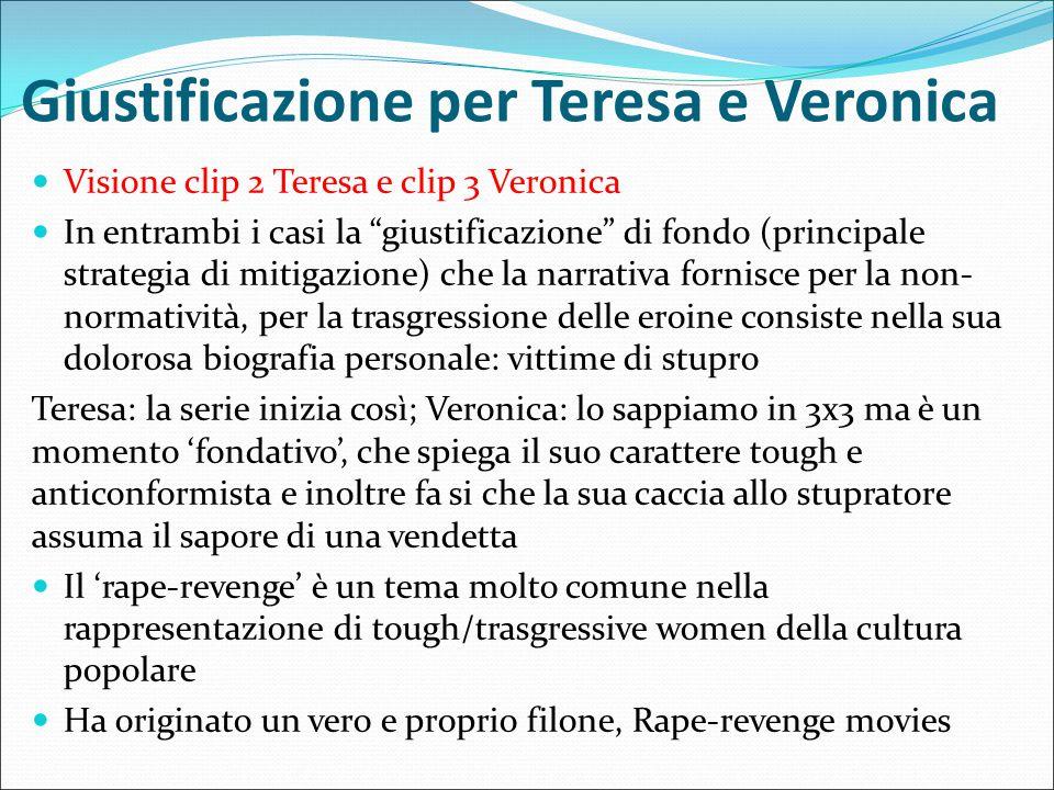 Giustificazione per Teresa e Veronica