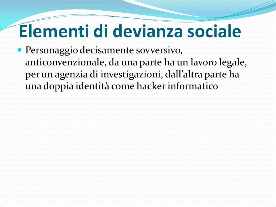 Elementi di devianza sociale