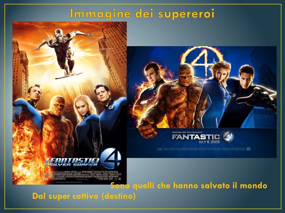 Immagine dei supereroi