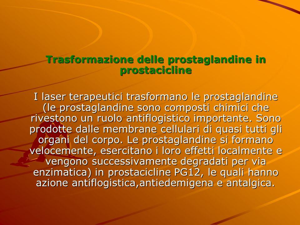 Trasformazione delle prostaglandine in prostacicline