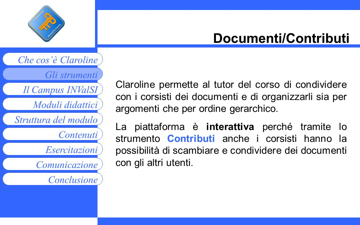 Documenti/Contributi