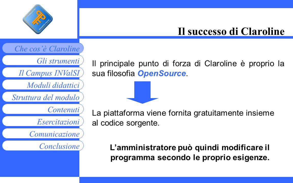 Il successo di Claroline