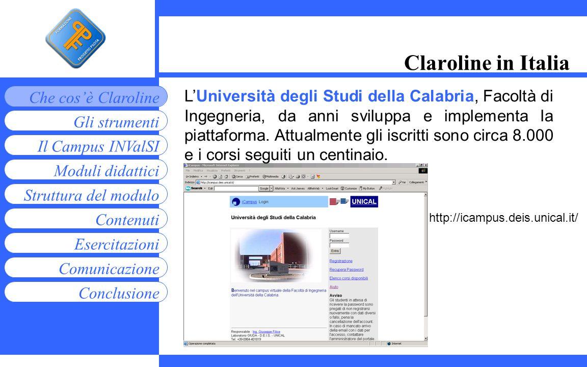 Claroline in Italia