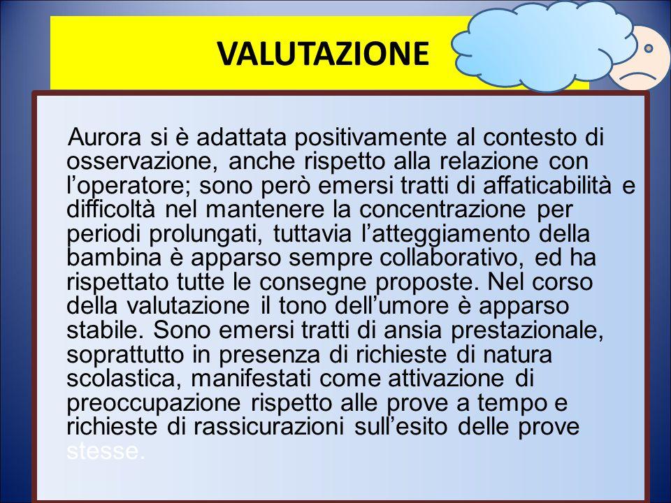 VALUTAZIONE