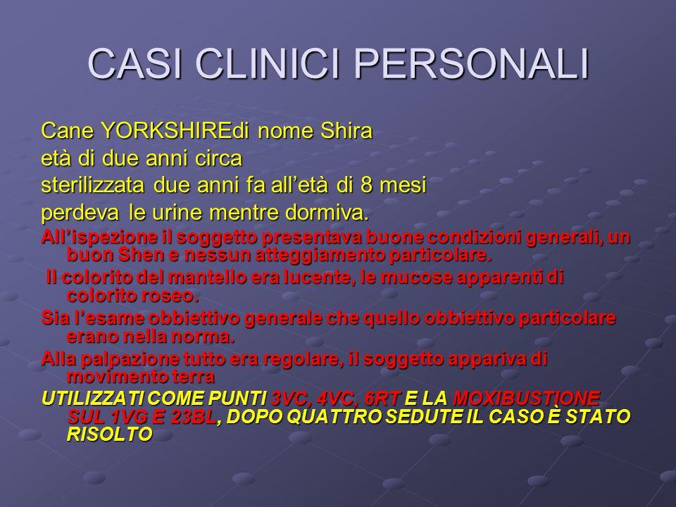 CASI CLINICI PERSONALI