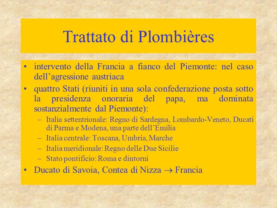 Trattato di Plombières