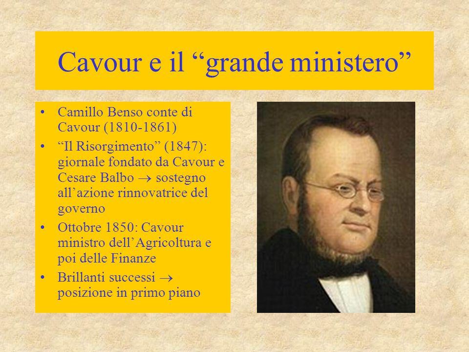 Cavour e il grande ministero