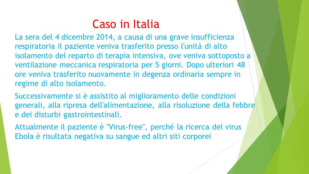 Caso in Italia