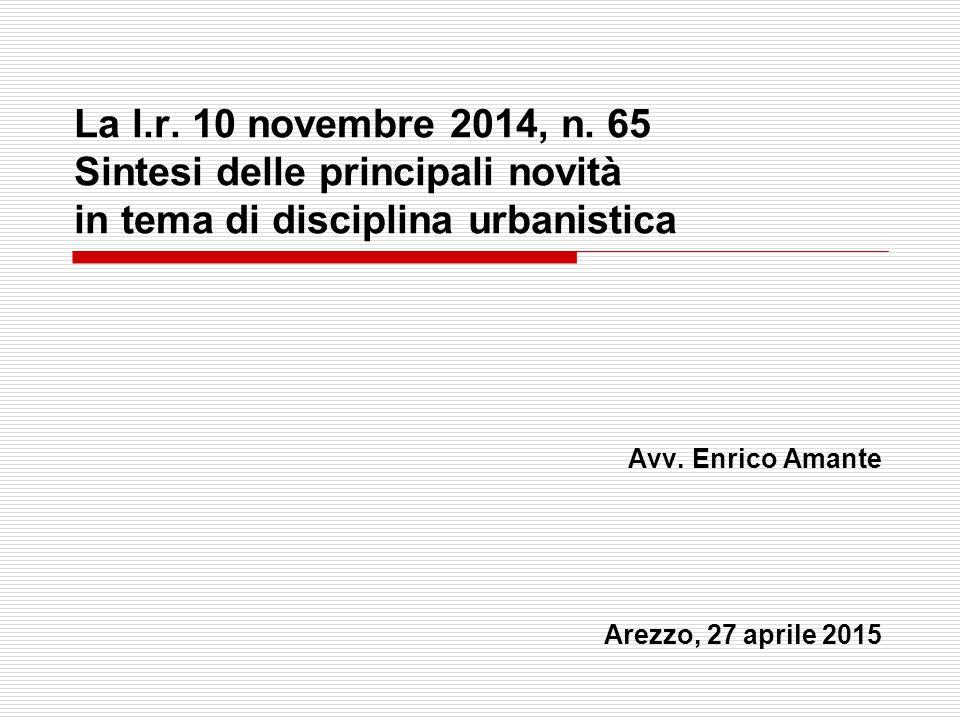 Avv. Enrico Amante Arezzo, 27 aprile 2015