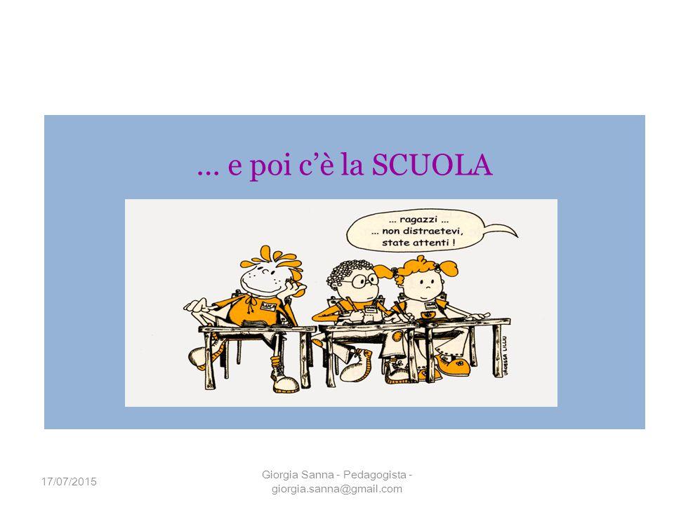Giorgia Sanna - Pedagogista - giorgia.sanna@gmail.com