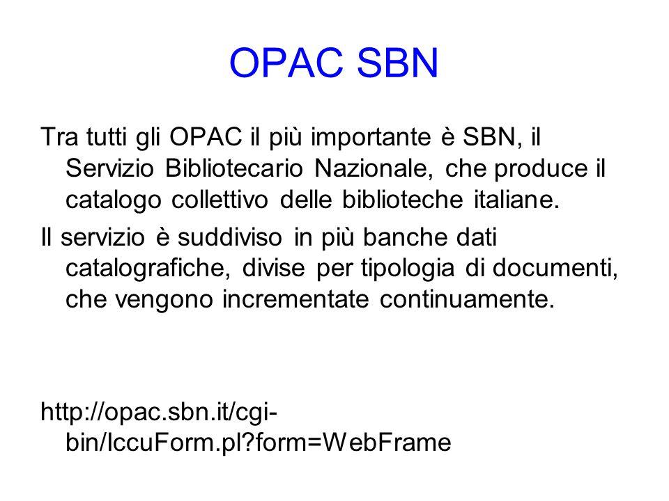 OPAC SBN