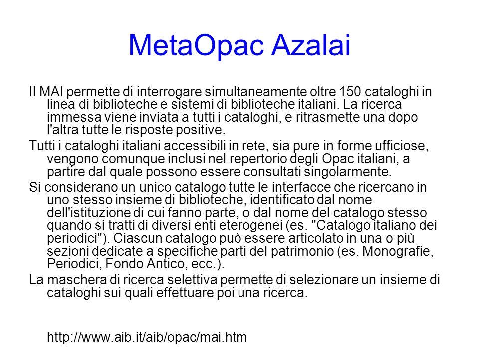 MetaOpac Azalai