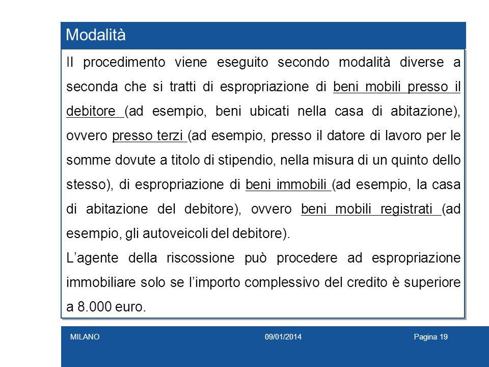 Le sanzioni amministrative per violazioni al codice della for L espropriazione mobiliare presso terzi