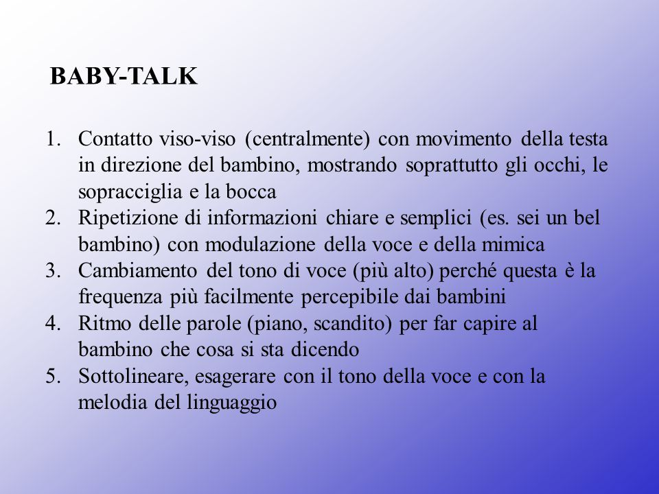 BABY-TALK