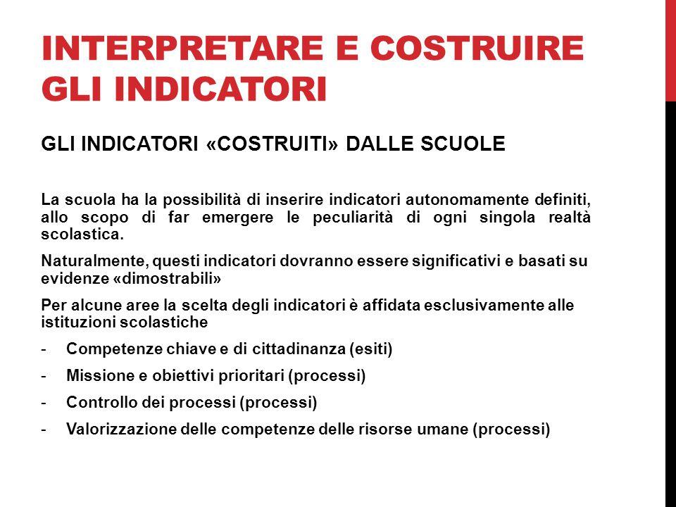 Interpretare e costruire gli indicatori