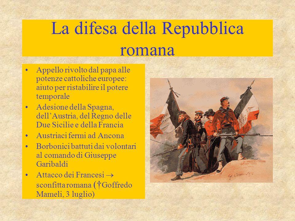 La difesa della Repubblica romana