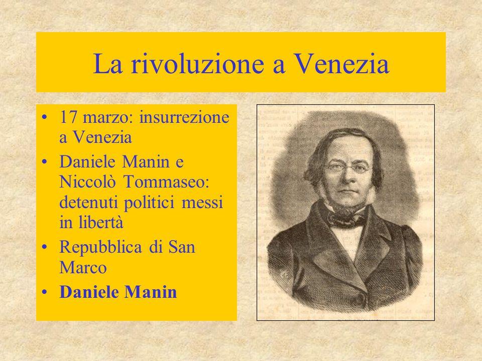 La rivoluzione a Venezia