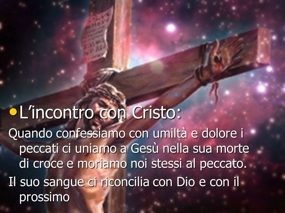 L'incontro con Cristo: