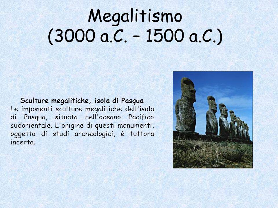 Sculture megalitiche, isola di Pasqua