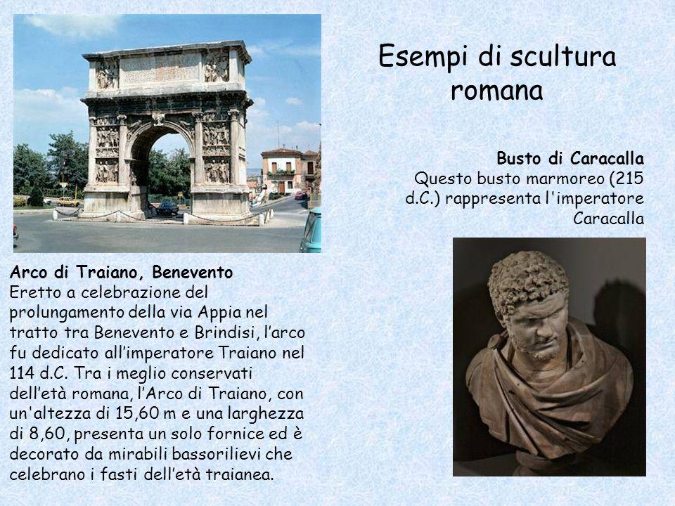 Esempi di scultura romana