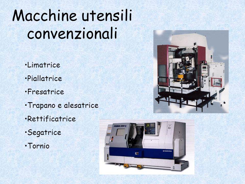 Macchine utensili convenzionali