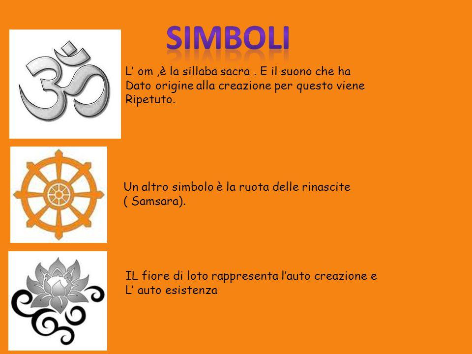 simboli L' om ,è la sillaba sacra . E il suono che ha