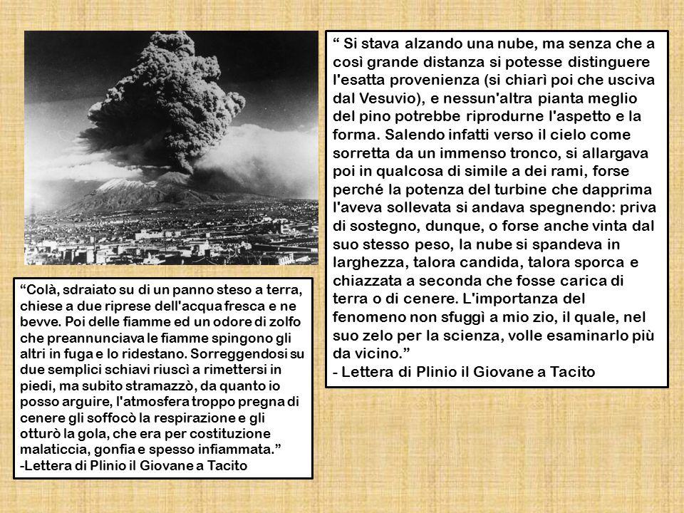 - Lettera di Plinio il Giovane a Tacito