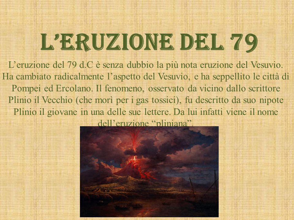 L'ERUZIONE DEL 79